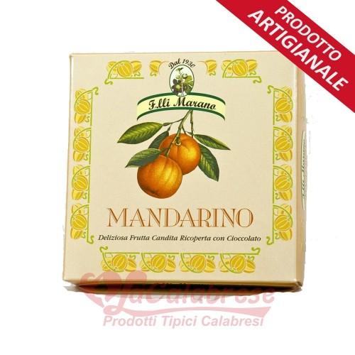 Mandarin Keile bedeckt mit Marano Gr 200 ciocc.puro extra dunkel