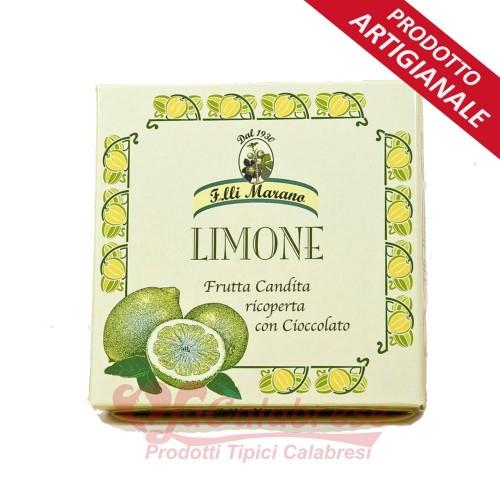 Filetti di Limone ricoperti di ciocc. extra fondente Marano Gr 200