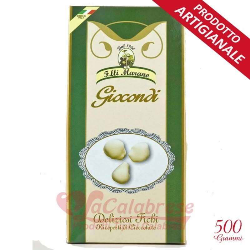 Joyous covered with pure white chocolate Marano Gr 500