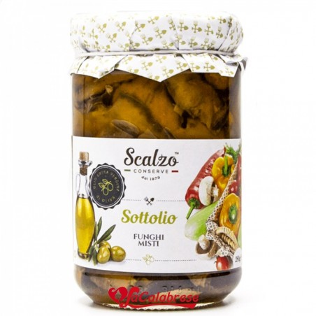 Mixed mushrooms in extra virgin olive oil without preservatives Gr 190