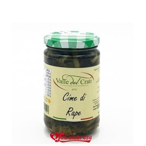Crema di Cime di Rape in olio di Oliva 180 gr