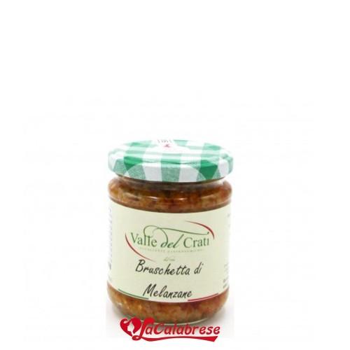 Bruschetta di Melanzane in Olio di oliva 190 gr