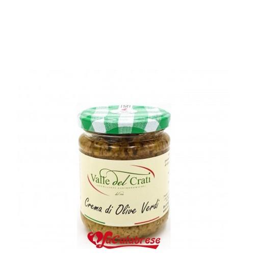 Crema di Olive Verdi 180 gr