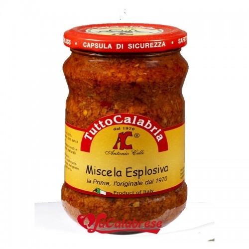 Stuzzichella mix di verdure e peperoncino tutto Calabria Gr 290