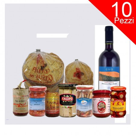 Typical Calabrian products box 10 pcs