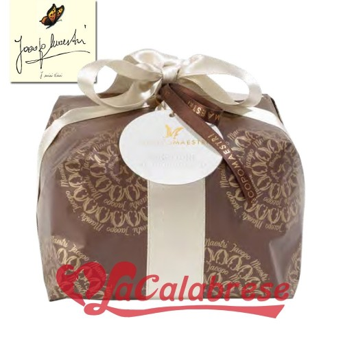 Classic Panettone with Jacopo Maestri artisan CHOCOLATE 1 kg
