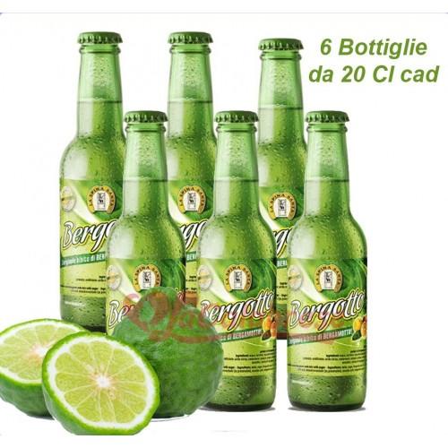 """Bergamotte-Erfrischungsgetränk """"Bergotto"""" mit weichem Kohlensäure - 6 Bott. von 20 cl"""