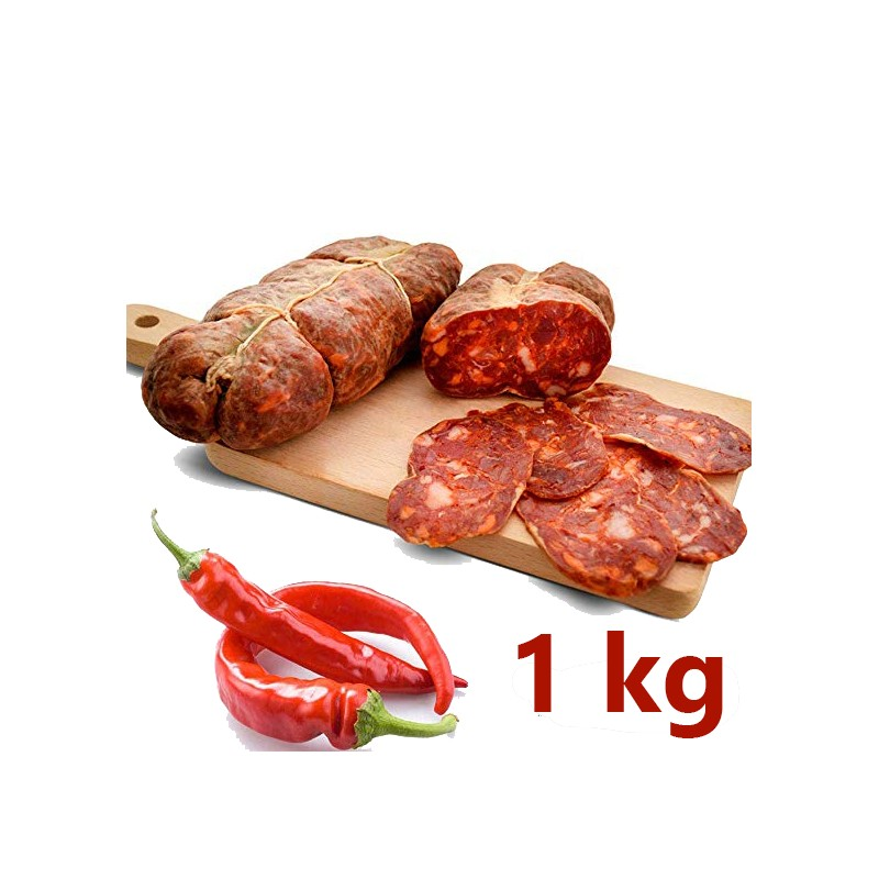 Soppressata Calabrese artisanal seasoned 1 kg