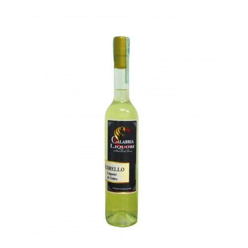 Liqueur de cèdre de Calabre sans colorants CL50