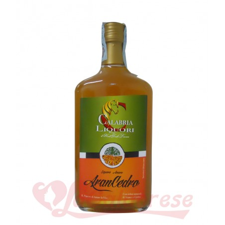 Arancedro liqueur with orange and Calabrian cedar 70 cl