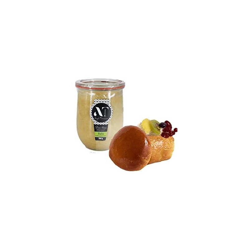 Baba in vasocottura Gr 750 Torchia pastry, very high quality