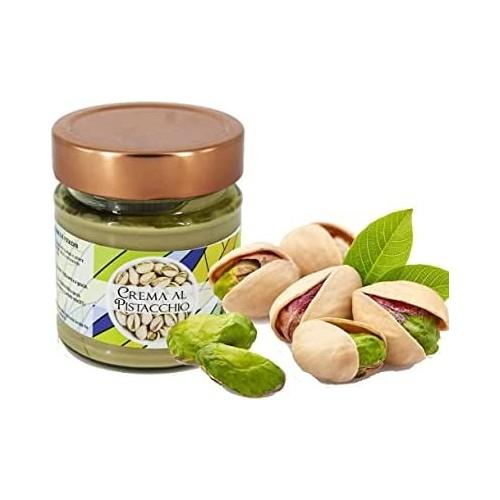 Crema ai pistacchi altissima pasticceria Torchia senza conservanti e senza coloranti Gr 250