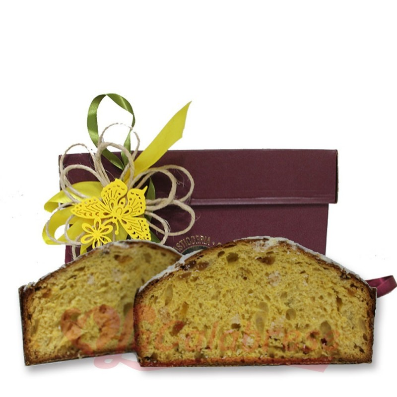Coccolocco the summer panettone with coconut, lime and pineapple 1 Kg