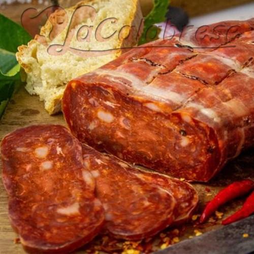 Calabrian Capocollo Salumificio Pulice Gr 500 Sweet / Spicy