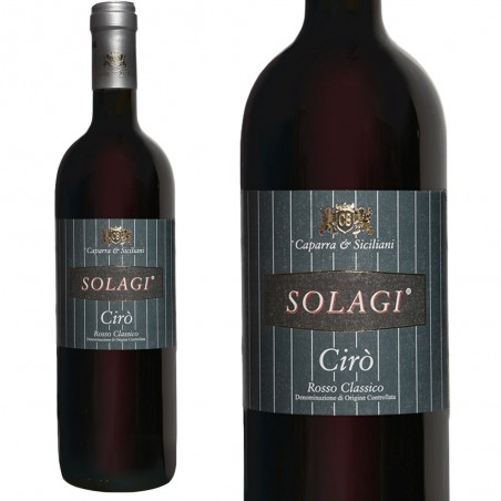 Red Wine Ciro Caparra & Siciliani Solagi cl. 75