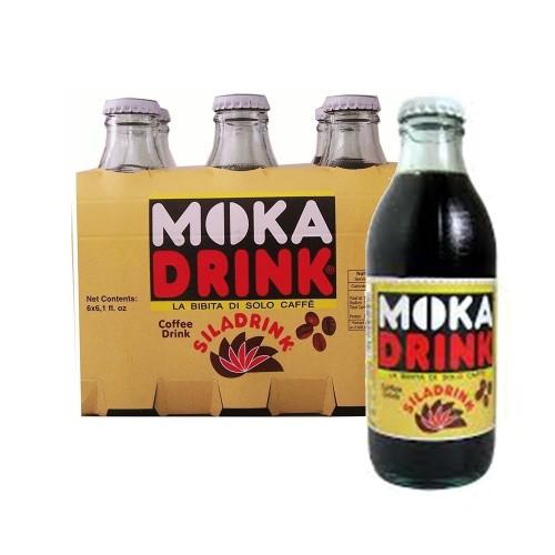 Gassosa al caffè Moka Drink bibita calabrese cl 20 X 6