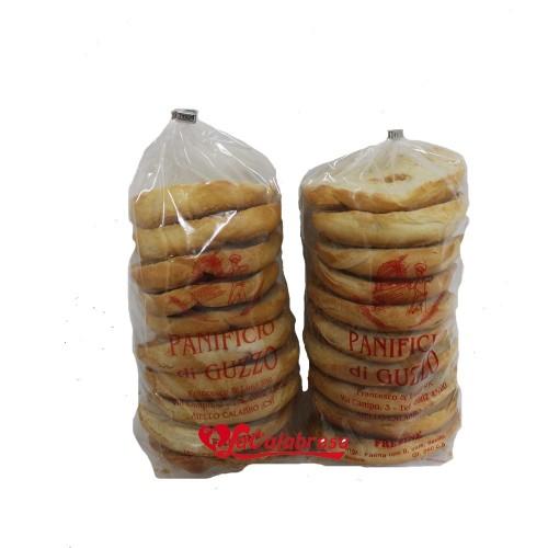 """Frese di pane duro bianche Panificio """" Guzzo """" Gr 400"""