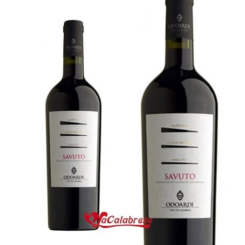 """Vino Rosso """"Odoardi"""" Savuto DOC cl 75"""