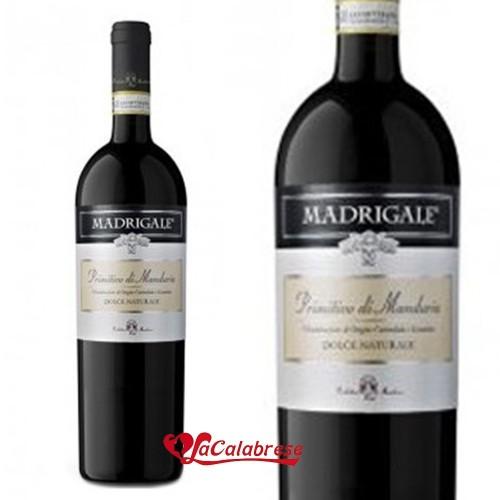 """Vino Rosso """"Primitivo di Manduria DOC"""" CL 75"""