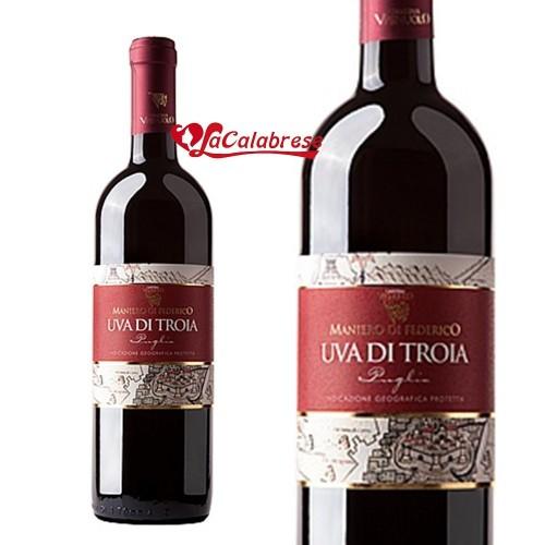 """Vino Rosso """"Uva di Troia"""" CL 75"""