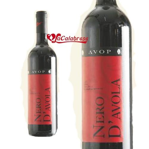"""Vino Rosso """"Avop"""" Nero d'Avola IGT CL 75"""