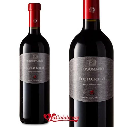 "Vino Rosso ""Cusumano"" Nero d'Avola Benuara IGT CL 75"