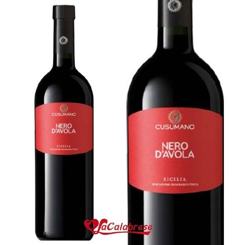"Vino Rosso ""Cusumano"" Nero d'Avola IGT CL 75"