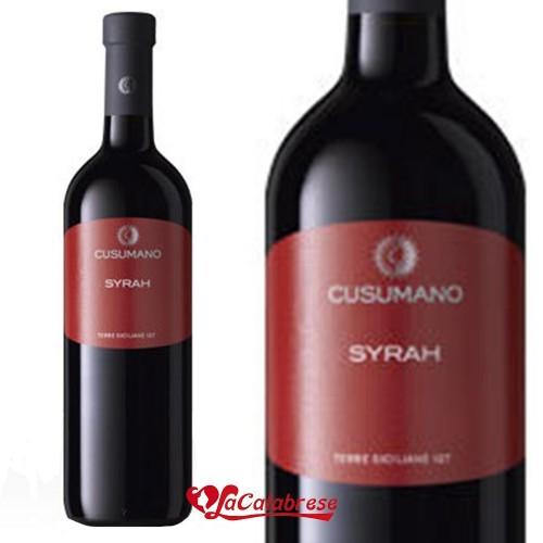 "Vino Rosso ""Cusumano"" Syrah IGT CL 75"