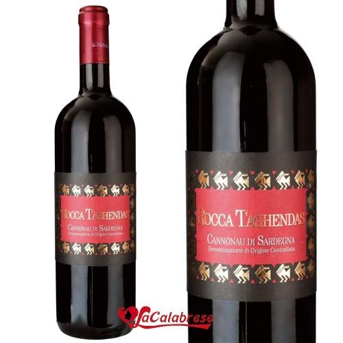 "Vino Rosso ""Rocca Taghendas"" Cannonau DOC CL 75"