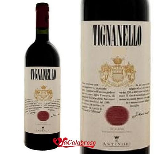 """Vino Rosso """"Antinori"""" Tignarello CL 75"""