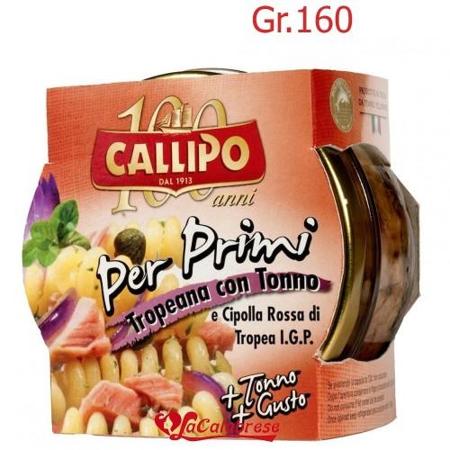 """Tonno per primi Tropeana """"Callipo"""" Gr.160"""