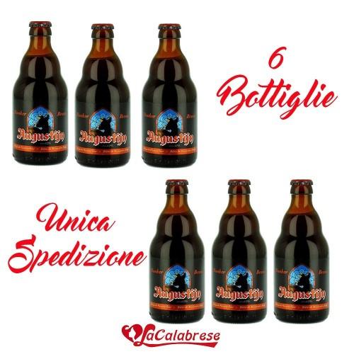 """Birra """"Augustijstin"""" cl.33x6 bottiglie"""