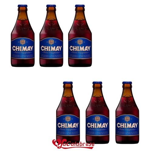 "Birra ""Chimay Blu"" cl.33x 6 bottiglie"