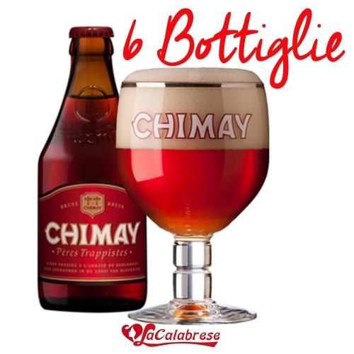 "Birra ""Chimay Rossa"" cl.33x 6 bottiglie"