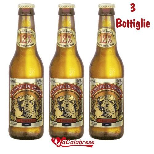 """Birra """"Du Demon"""" cl.25x 3 bottiglie"""