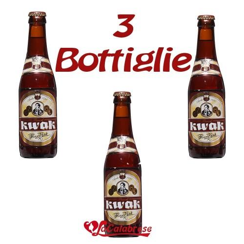 "Birra ""Kwak"" cl.33x 3 bottiglie"