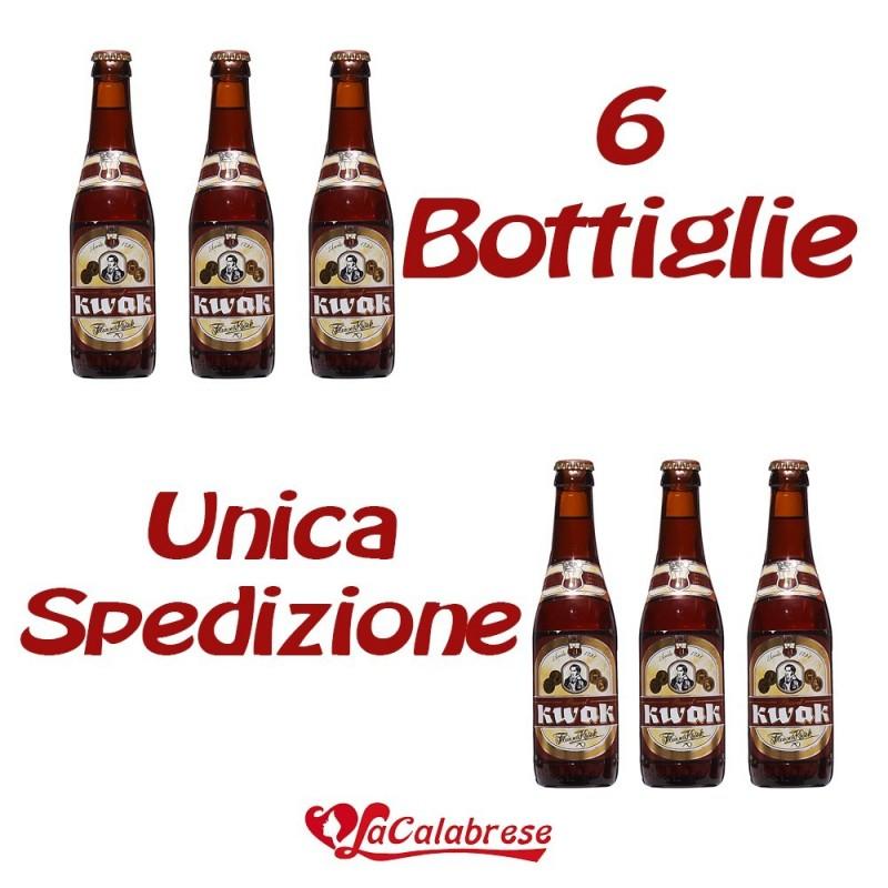 "Birra ""Kwak"" cl.33x 6 bottiglie"