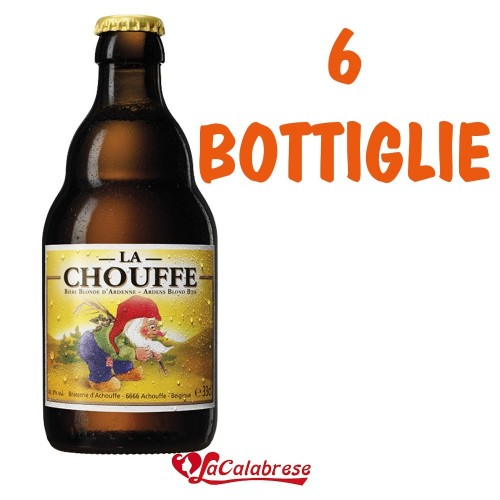 "Birra ""La Chouffe"" cl.33x 6 bottiglie"