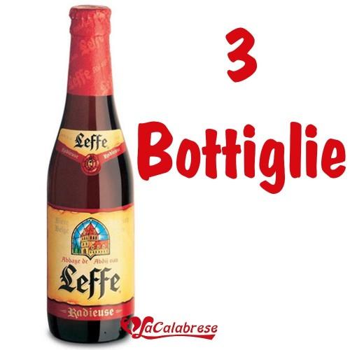 "Birra ""Leffe Radieuse"" cl.33x3 bottiglie"
