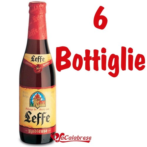"Birra ""Leffe Radieuse"" cl.33x6 bottiglie"