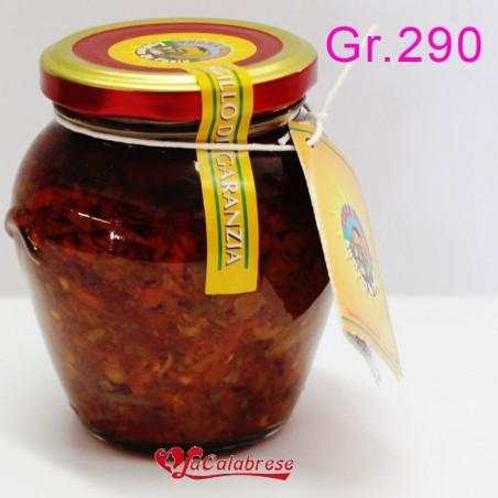 """Peperoncino piccante ripieno """"Ciliegie golose"""" Gr.290"""