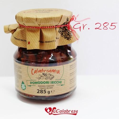 """Pomodori secchi """"Calabria mia"""" Gr.285"""