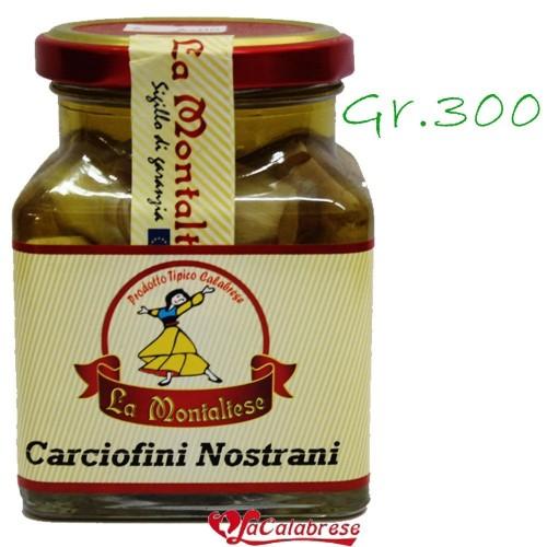 "Carciofi nostrani ""La Montaltese"" Gr.300"