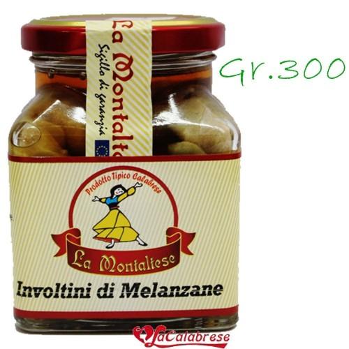 """Involtini di melanzane """"La Montaltese"""" Gr.300"""