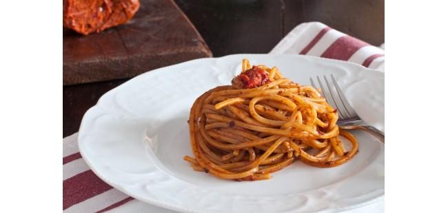 Spaghetti con il ragù di nduja